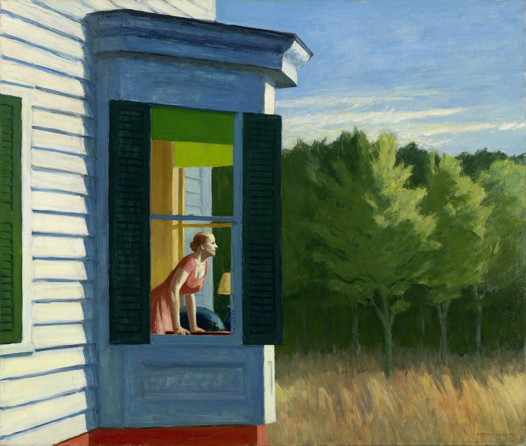 Edward Hopper, Cape Cod Morning, 1950