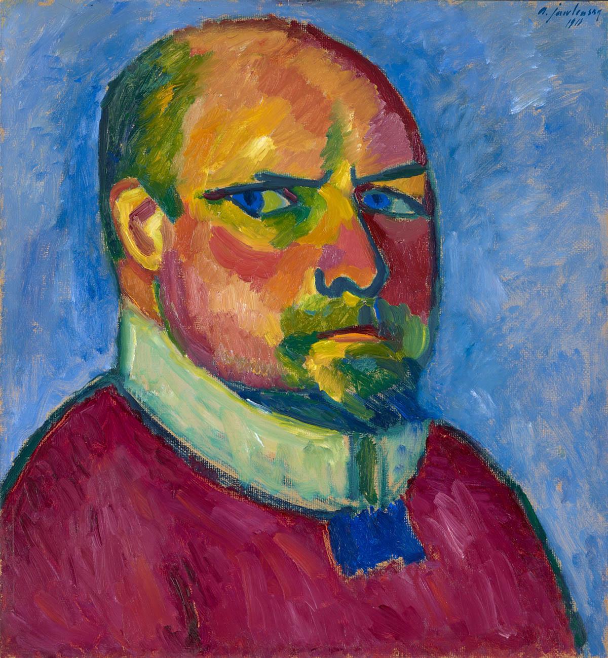 Alexej von Jawlensky, Selbstbildnis, 1911