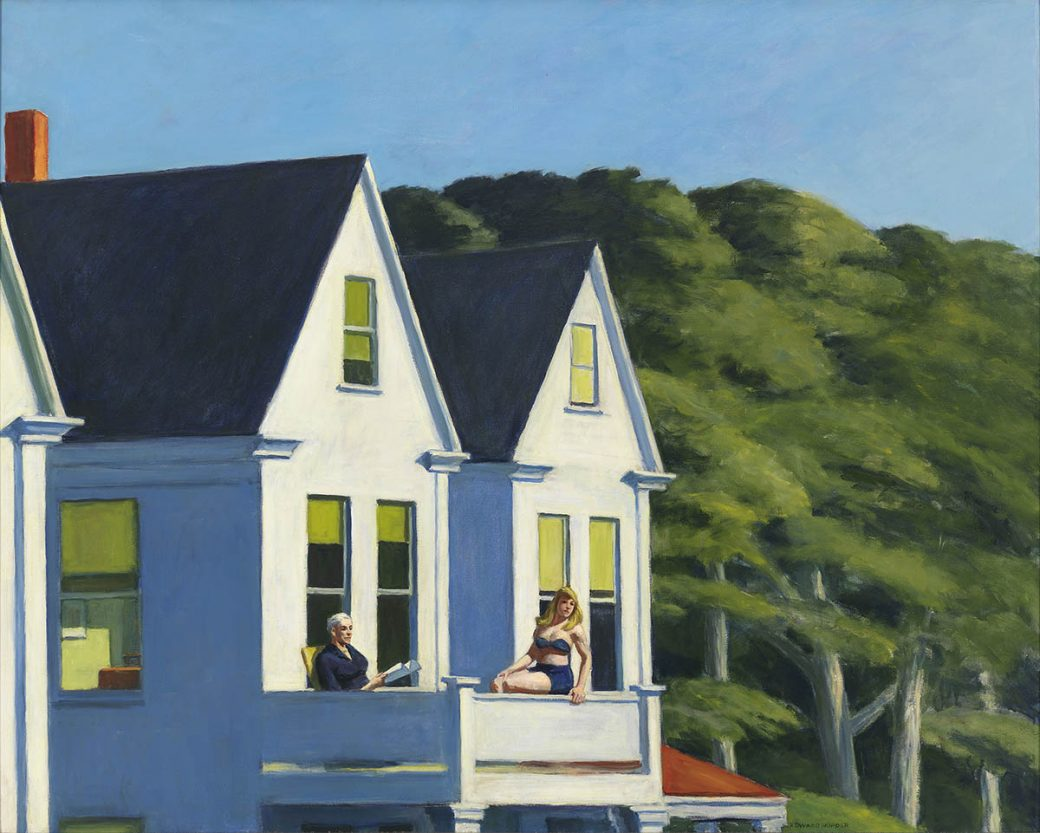 Edward Hopper, Secon Story Sunlight, 1960