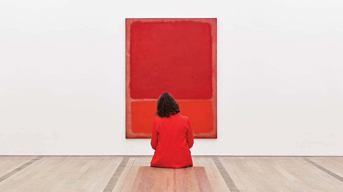 Ausstellungsansicht «Stilles Sehen – Bilder der Ruhe», 2020