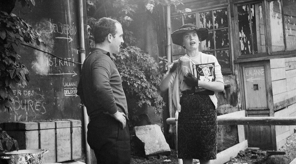20 Jean Tinguely und Claude Lalanne, Impasse Ronsin, ca. 1960, Foto: Hansjörg Stoecklin