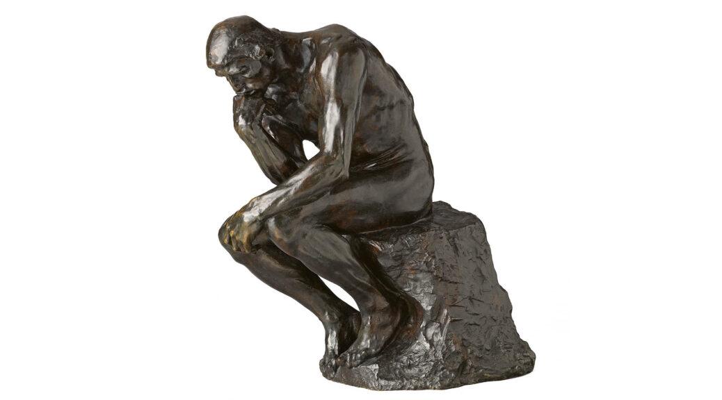 Auguste Rodin, Der Denker, 1880/1896, MAH Musée d'Art et d'histoire, Ville de Genève