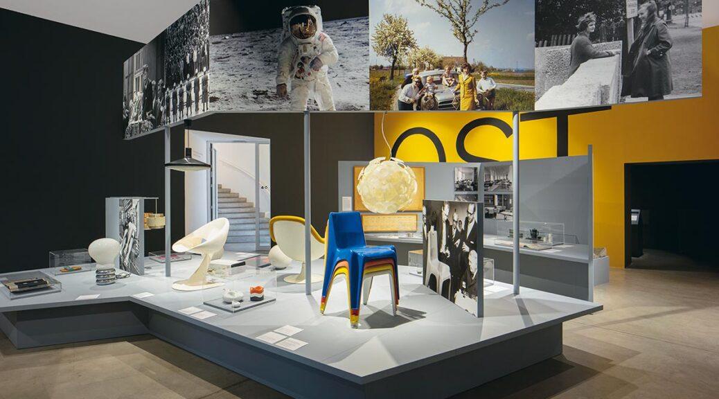 Installationsansicht «Deutsches Design 1949–1989. Zwei Länder, eine Geschichte» © Vitra Design Museum, Foto: Ludger Paffrath