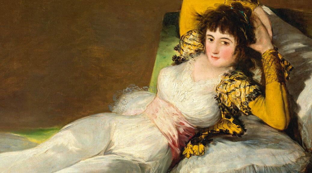 Francisco de Goya, La maja vestida (Die bekleidete Maja), 1800–1807