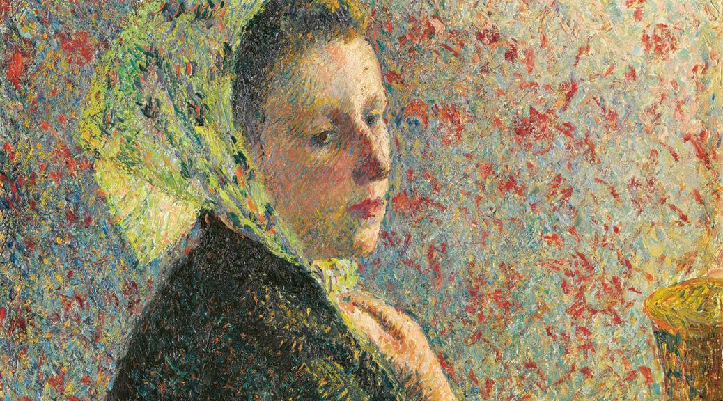 Camille Pissarro, Femme au fichu vert, 1893