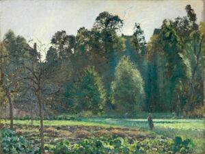 Camille Pissarro, Das Kohlfeld, Pontoise, 1873