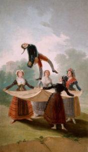 Francisco de Goya, Die Strohpuppe (El pelele), 1791–1792